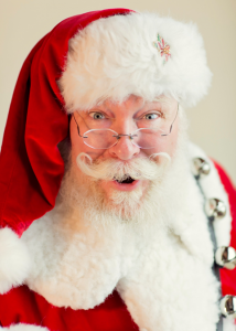 Winter plumage: Santa True